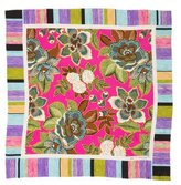 Etro Floral Print Twill Pocket Square