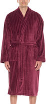 Asstd National Brand Men's Fleece Long Sleeve Robe