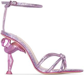 Sophia Webster Flamingo 100mm Sandals