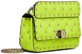 Valentino Garavani Mini Rockstud Spike Fluo Leather Bag