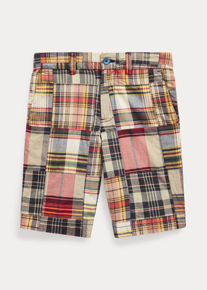 Ralph Lauren Slim Fit Cotton Madras Short