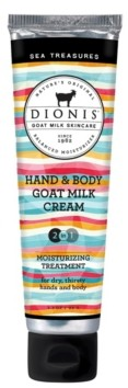 Dionis Hand Body Goat Milk Cream, Sea Treasures, 3.3 oz