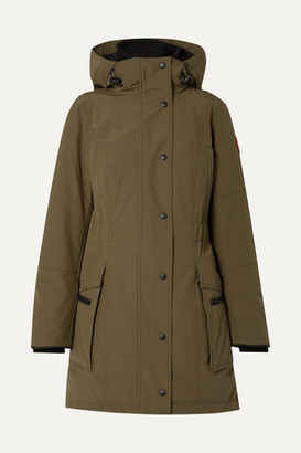 Canada Goose Kinley Hooded Shell Down Parka - Army green