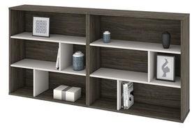 Carbon Loft Anagonye Two-tone 2-piece Asymmetrical Shelving Unit Set