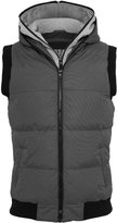 Urban Classics Men's TB334 Double Hooded Vest