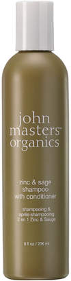 John Masters Organics Zinc & Sage Shampoo With Conditioner (236ml)