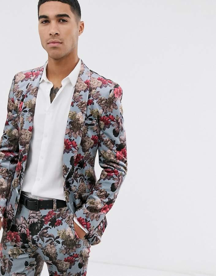 2fee59e9e25ef2 Men Floral Suit - ShopStyle Australia