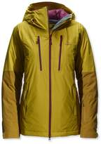 L.L. Bean Waterproof Down Ski Jacket, Colorblock