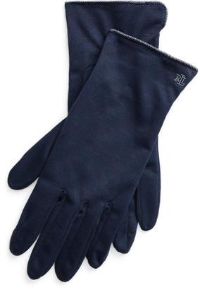 Ralph Lauren Cotton-Blend Tech Gloves