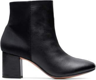 Chantelle Collection By Clarks Stone Patent Boots
