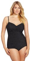Miraclesuit Women's Pin Point Rialto DD One Piece