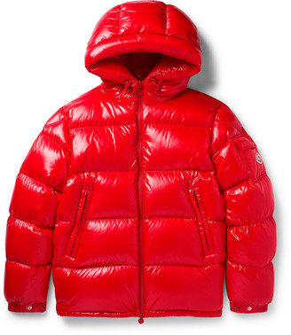 Moncler Ecrins Hooded Quilted Shell Down Jacket