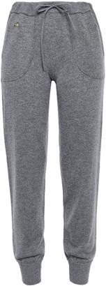 Bella Freud Melange Cashmere-blend Tapered Pants