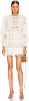Ulla Johnson Jolie Dress in Blanc   FWRD