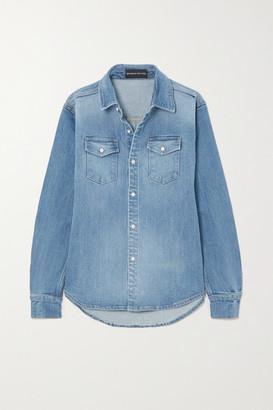 Brandon Maxwell Denim Shirt - Blue