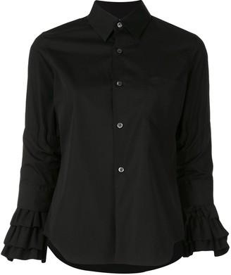 Comme des Garçons Comme des Garçons Ruffled-Cuff Shirt
