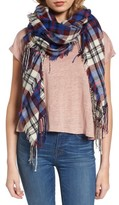 Madewell Women's Softplaid Fringe Scarf