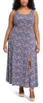 Michael Kors Michael Plus Size Dainty Blooms Maxi Dress