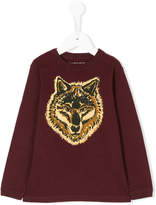 Stella McCartney wolf print jumper