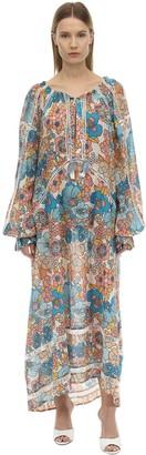 Dodo Bar Or Toto Printed Cotton Midi Dress