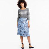 J.Crew Collection flowy A-line skirt in Ratti® monkey print