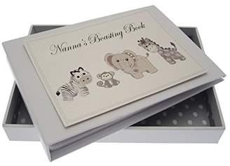 White Cotton Cards Nanna's Boasting Book Silver Toys Tiny Album