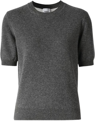 Burberry Cashmere Short-Sleeved Top
