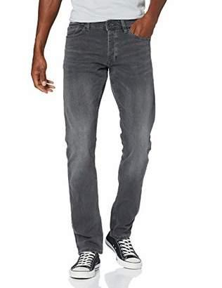 Q/S designed by Men's 44.899.71.3125 Slim Jeans, (Grey Denim Stretch 94z4), (Size: 34/34)