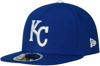 New Era Youth Royal Kansas City Royals Authentic Collection On Field 59FIFTY Fitted Hat