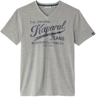 Kaporal Bruce Short-Sleeved V-Neck T-Shirt