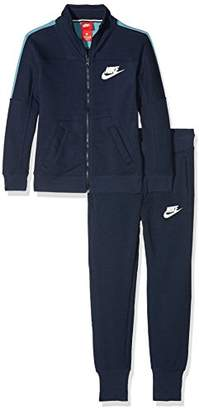 Nike Girl's 860069 Tracksuit,Small