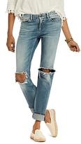 Scotch & Soda Supreme Distressed Straight Jeans in Beach Bandits