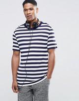 Asos Loungewear T-Shirt In Knitted Stripe