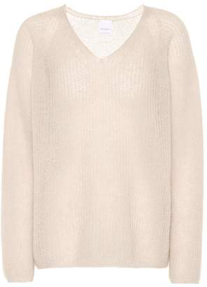 Max Mara Leisure Alea mohair and wool-blend sweater