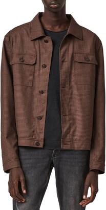 AllSaints Arlo Stretch Shirt Jacket