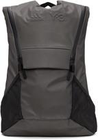 Y-3 Sport Grey Running Backpack