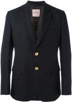 Palm Angels flap pockets blazer - men - Cotton/Linen/Flax/Viscose - 48