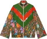 Gucci Flora GG Supreme pattern track jacket