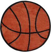 Fun Rugs Fun RugsTM Fun Time Basketball Rug