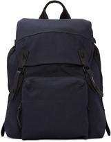 Lanvin Navy Canvas Backpack