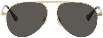 Gucci Gold GG0742S Sunglasses