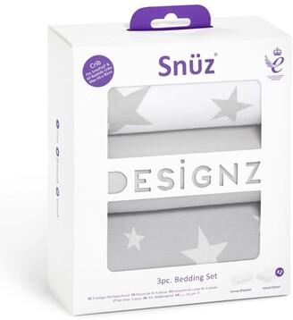 Snuz 3-Piece Crib Bedding Set