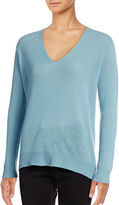 Theory Adrianna V-Neck Cashmere Sweater