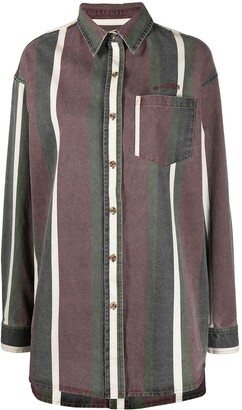 Han Kjobenhavn Stripe-Print Cotton Shirt