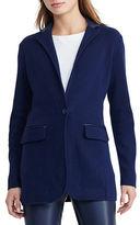 Lauren Ralph Lauren Petite Single-Button Sweater Jacket