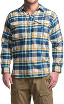 Columbia Bonehead Flannel Shirt Jacket - Long Sleeve (For Men)