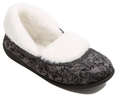 George Paisley Print Full Back Slippers