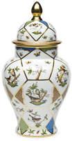 Herend Rothschild Bird Covered Urn