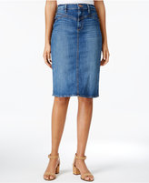 Buffalo David Bitton Denim Pencil Skirt