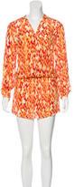 Alexis Silk Printed Dress w/ Tags